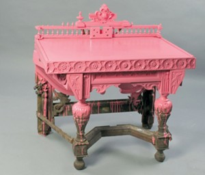 Pink console